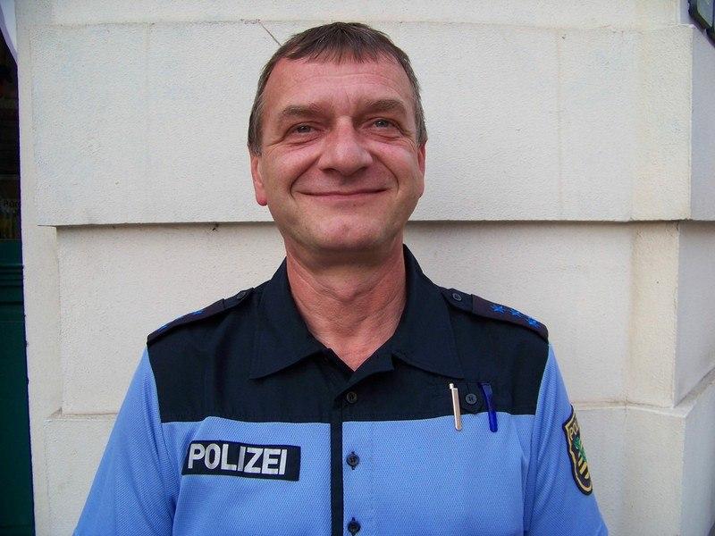 Bürgerpolizist Bernd Kupke