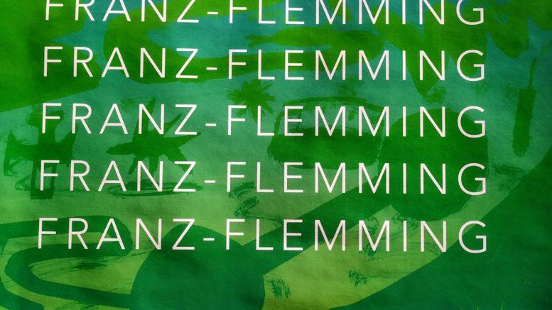 Franz-Flemming - Titel der Veranstaltung auf einem Plakat.