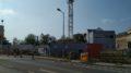 Baustelle des neuen Seniorendomizils an der Rückmarsdorfer Straße.