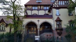 Das Diakonissen-Mutterhaus.