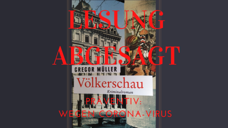 """Die Lesung des Romans """"Völkerschau"""" muss verschoben werden. / Bild: Enrico Engelhardt"""